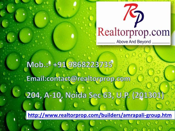 Mob.:- +91 9868223735