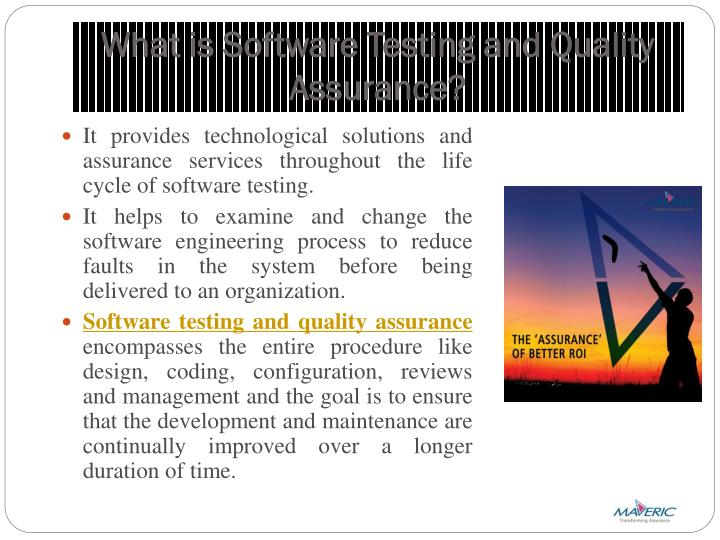 What is Software Testing and Quality Assurance?