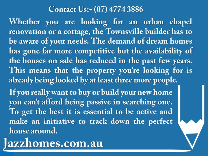 Contact Us:- (07) 4774 3886