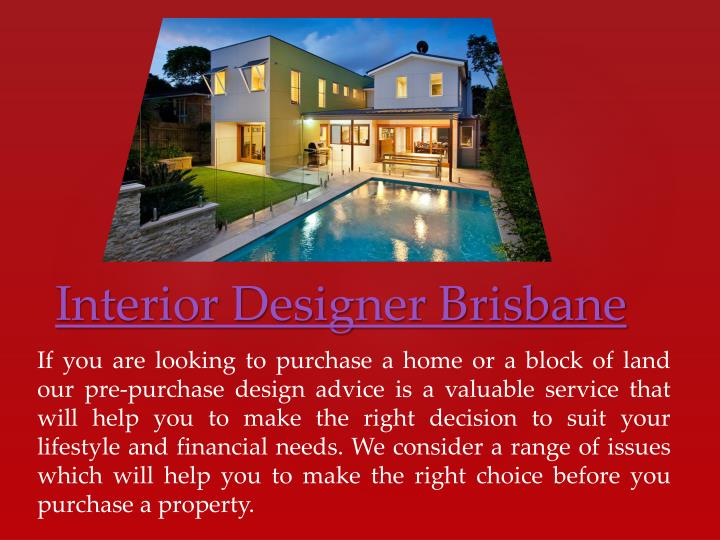 If you are looking to purchase a home or a block of land our pre-purchase design advice is a valuable service that will help you to make the right decision to suit your lifestyle and financial needs. We consider a range of issues which will help you to make the right choice before you purchase a property.