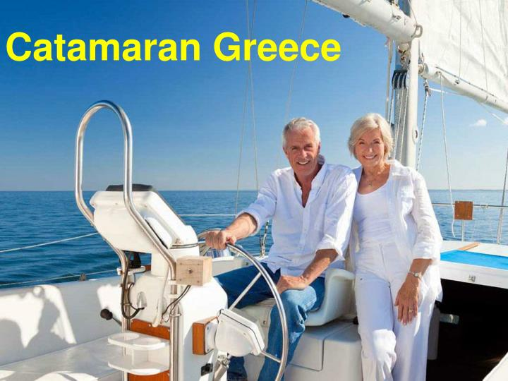 Catamaran Greece