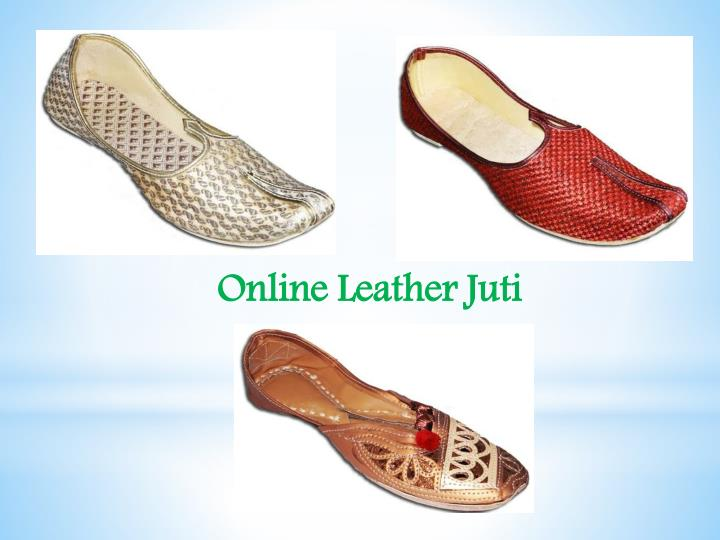 Online Leather Juti