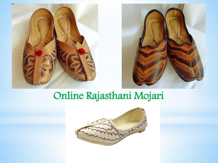 Online Rajasthani Mojari