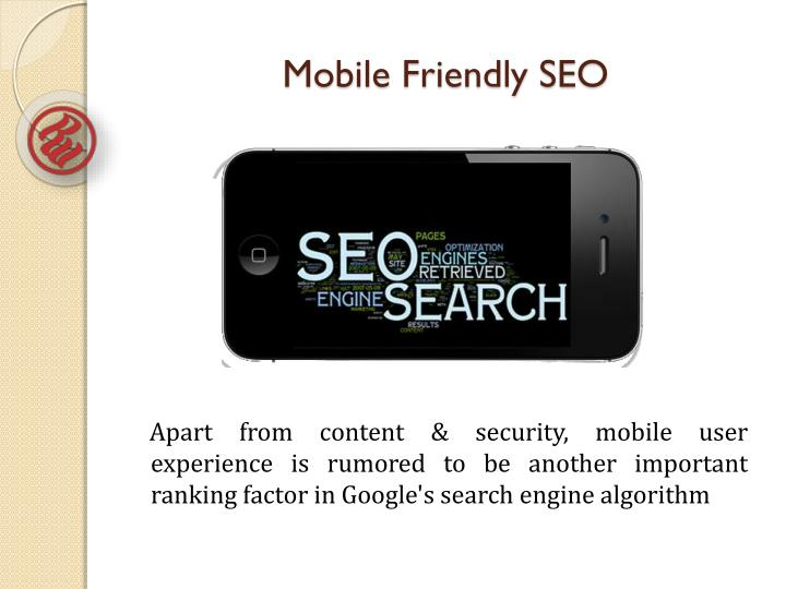Mobile Friendly SEO