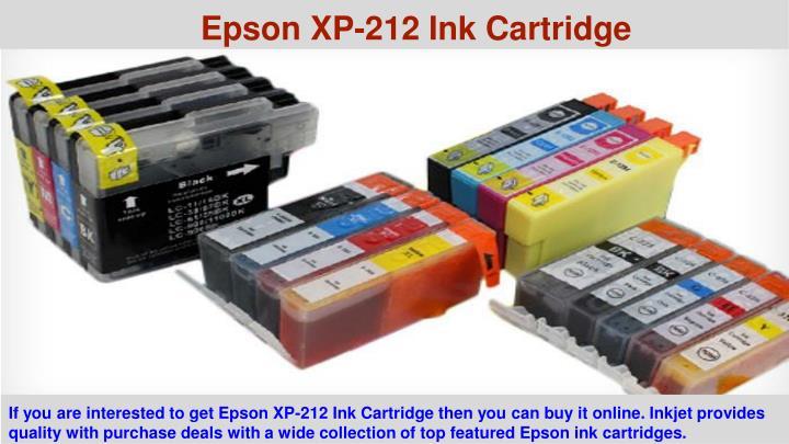 Epson XP-212 Ink Cartridge