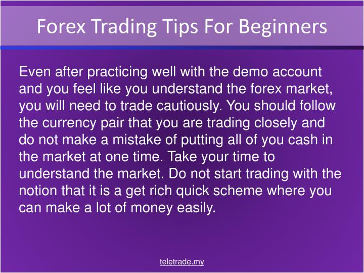 Forex trading guidelines for beginners
