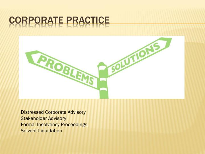 Corporate Practice