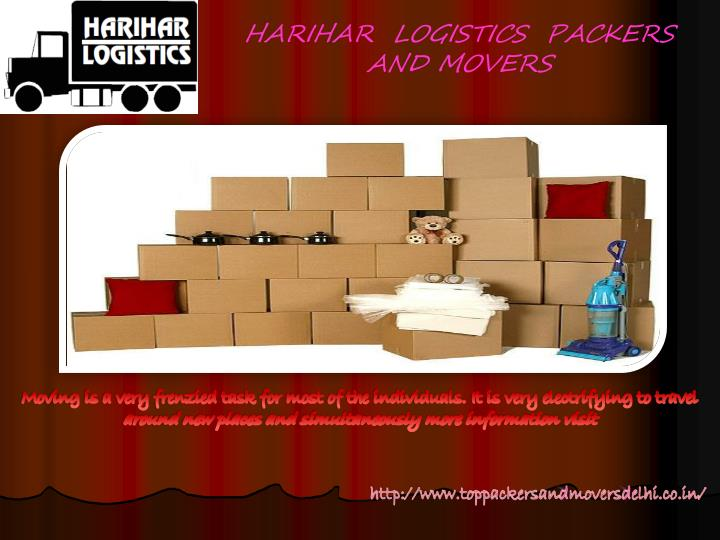 HARIHAR  LOGISTICS  PACKERS AND MOVERS