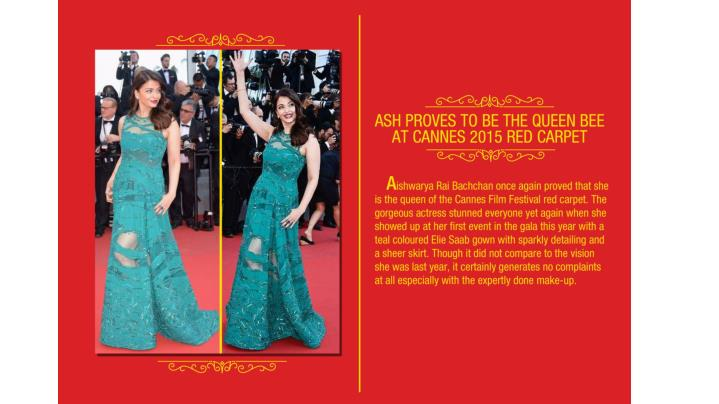 Ash proves to be the queen bee at cannes 2015 red carpet