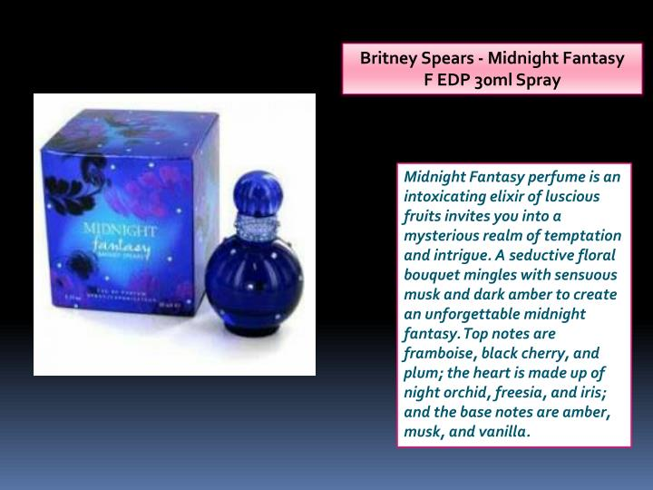 Britney Spears - Midnight Fantasy