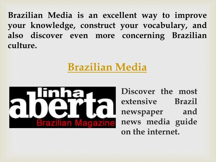 Brazilian Media is
