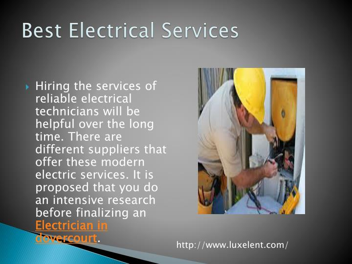 Best Electrical Services