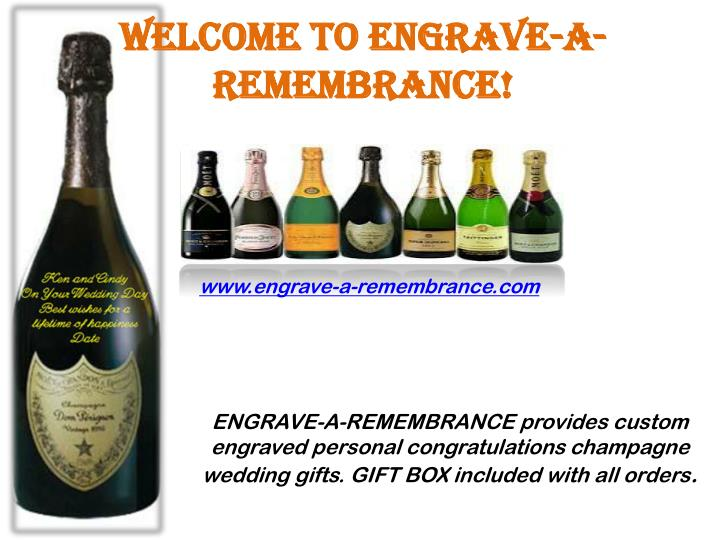Welcome to Engrave-A-Remembrance!