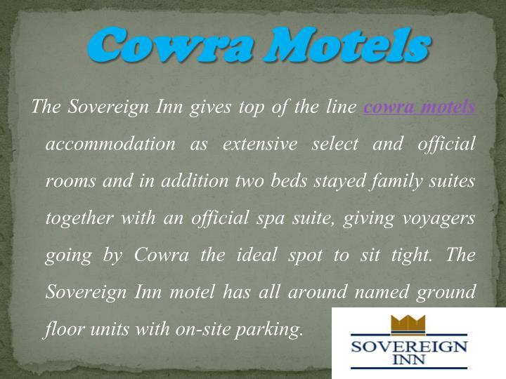 Cowra Motels