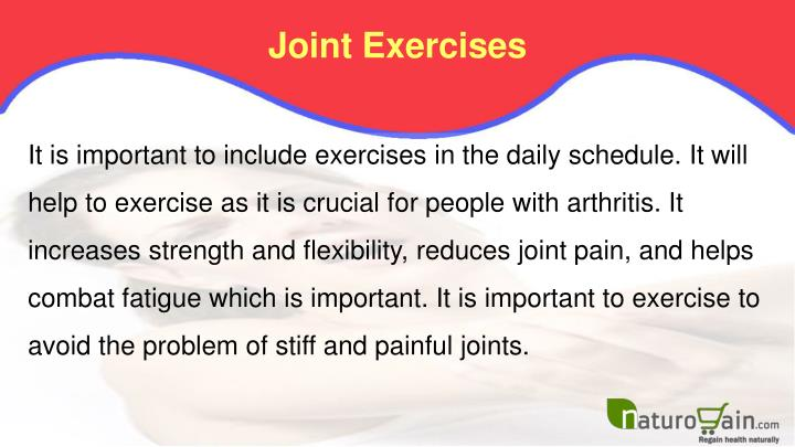 Joint Exercises
