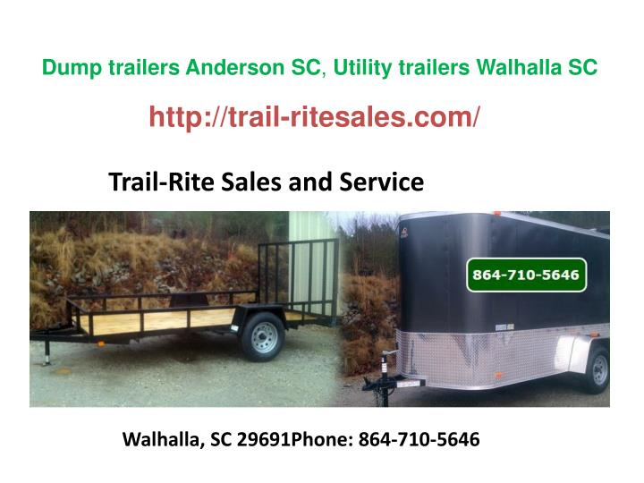 Trail rite sales and service