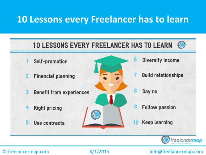 10 Lessons every Freelancer has to learn