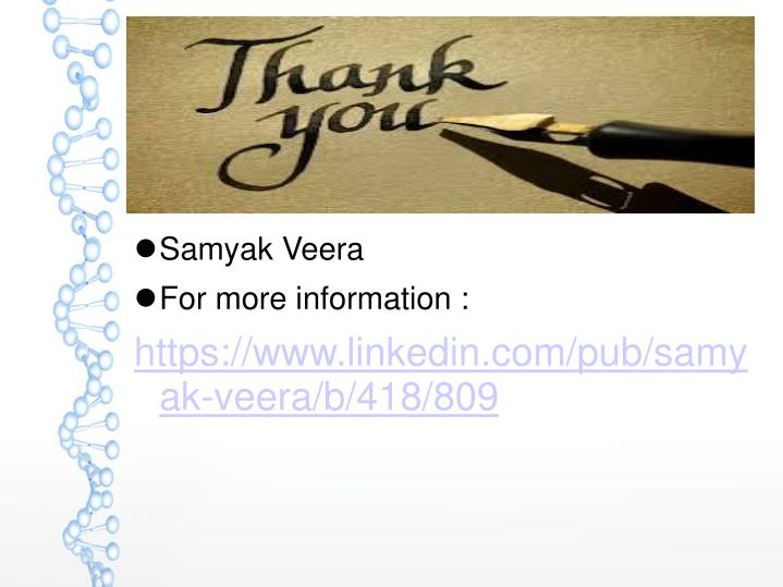 Samyak Veera
