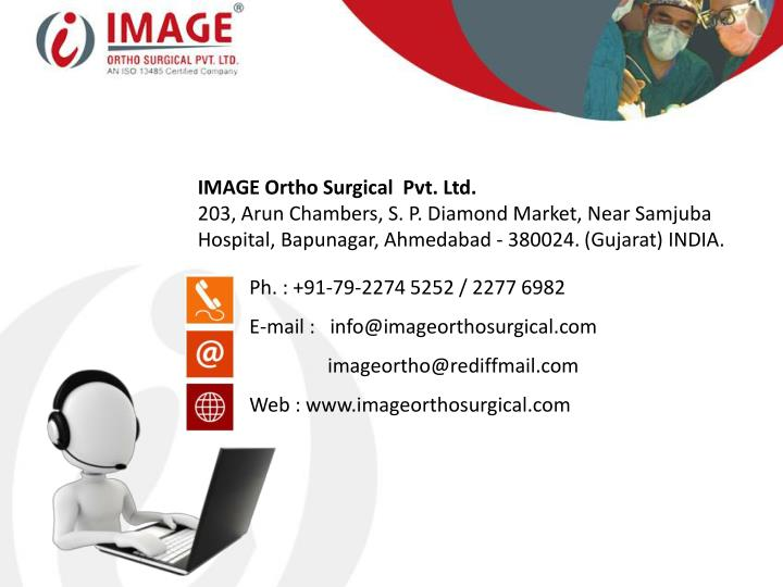 IMAGE Ortho Surgical  Pvt. Ltd.