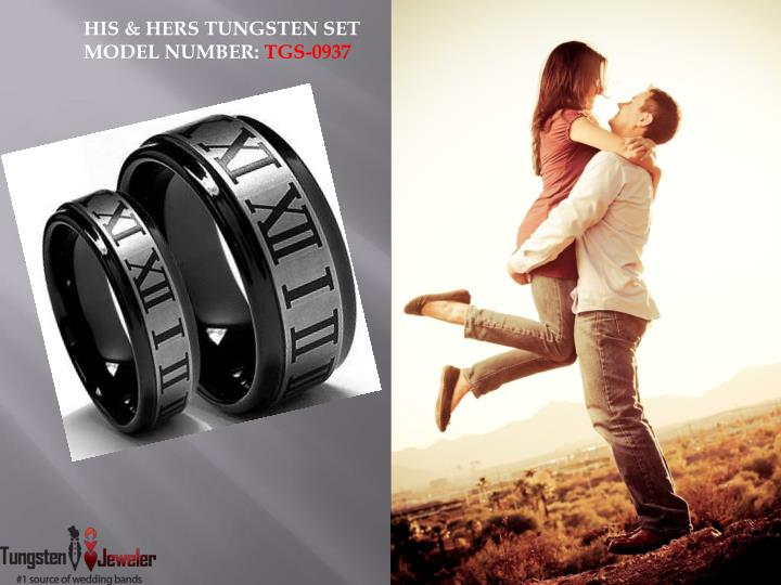 HIS & HERS TUNGSTEN SET