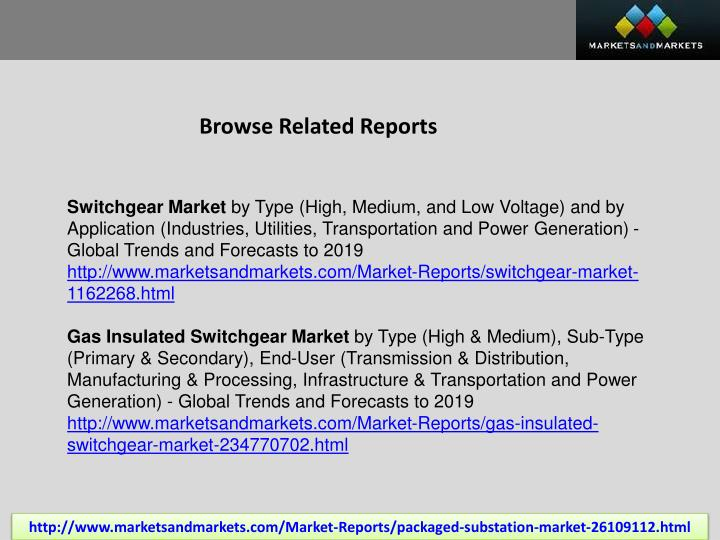 Browse Related Reports