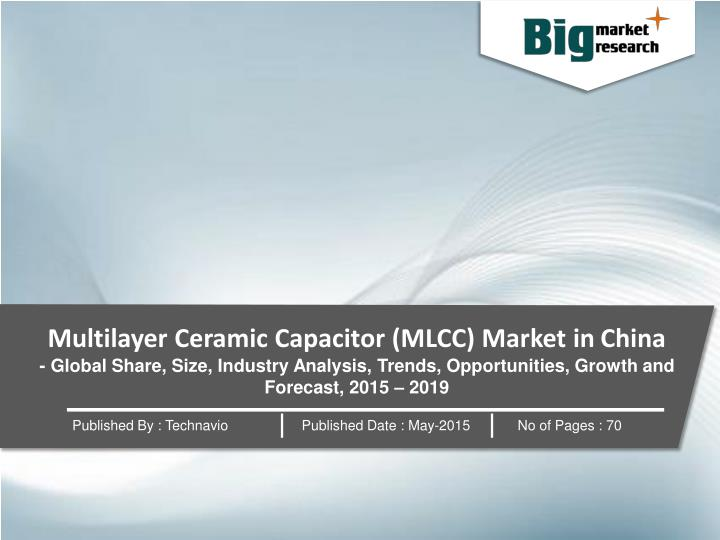 Multilayer Ceramic Capacitor (MLCC) Market in