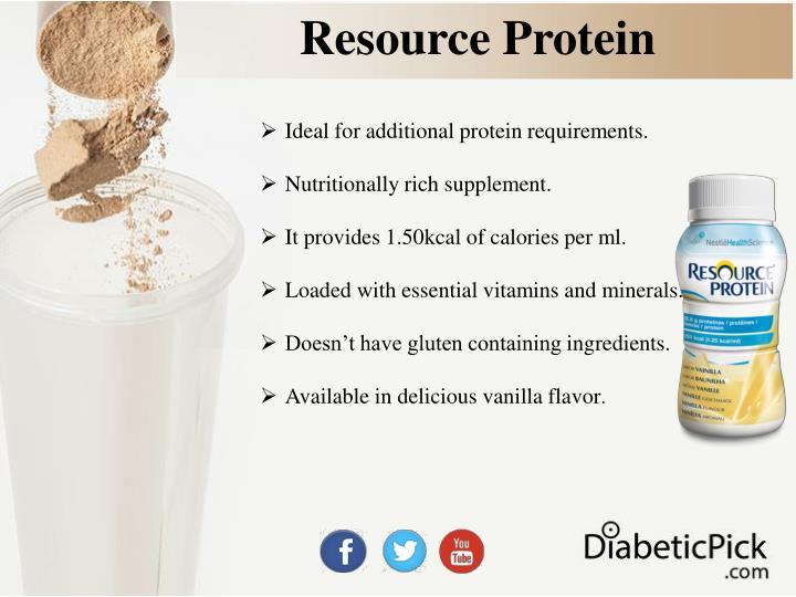 Resource Protein