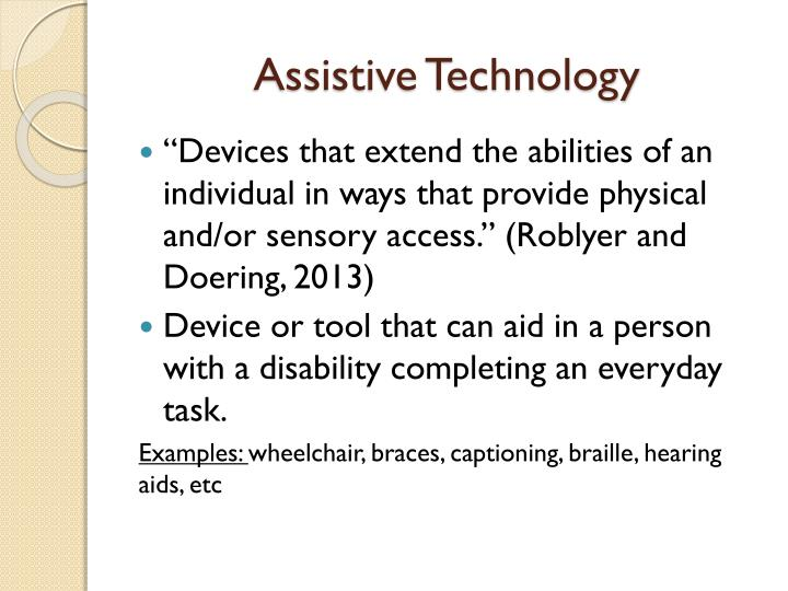 Assistive technology1