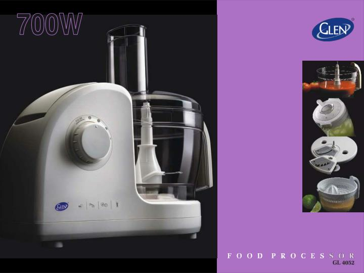 Use of the food processor to cook healthier and tastier food