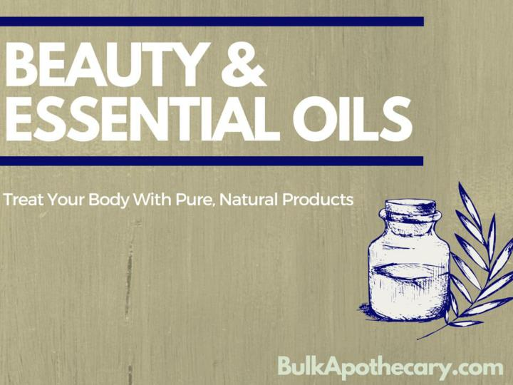 Beauty essential oils