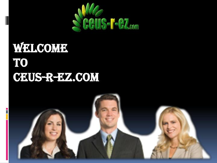 Welcome to ceus r ez com