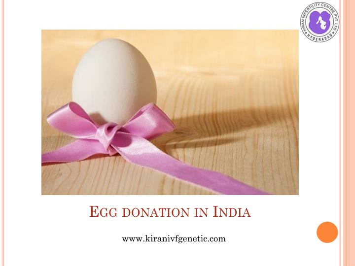 Egg donation in