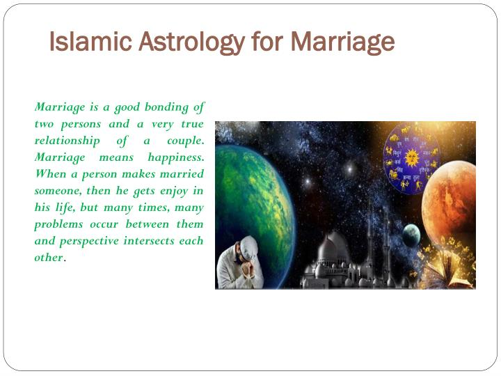 Islamic astrology for marriage