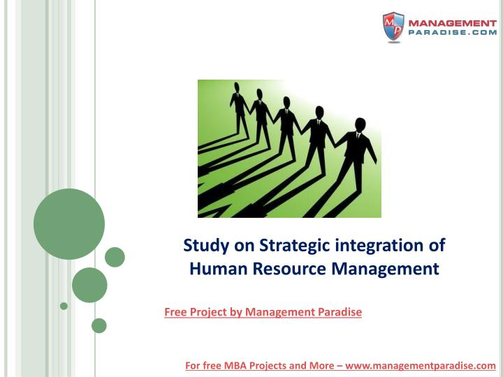 integrating strategy and human resource management essay