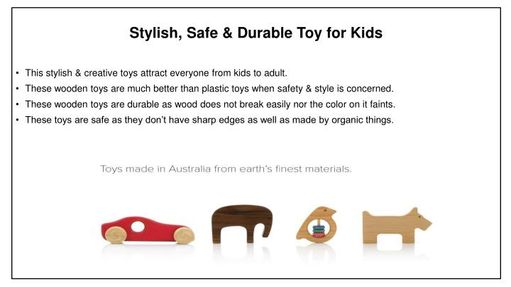 Stylish, Safe & Durable Toy for Kids