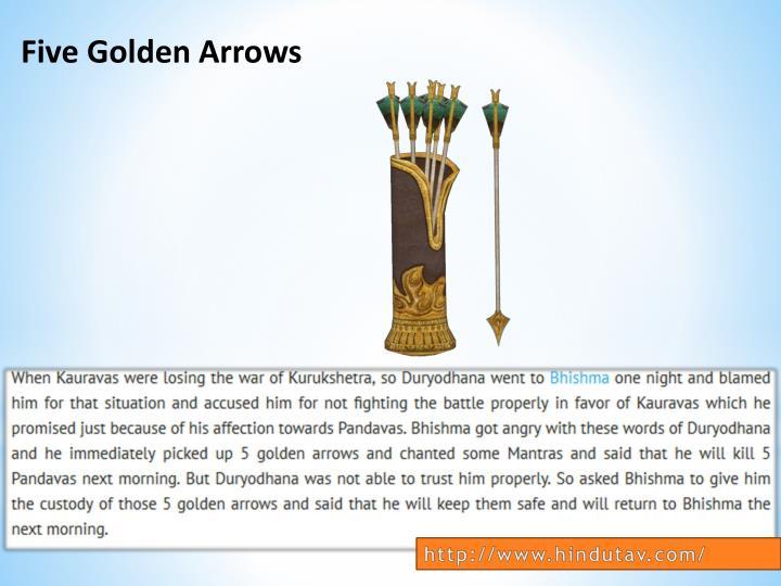 Five Golden Arrows