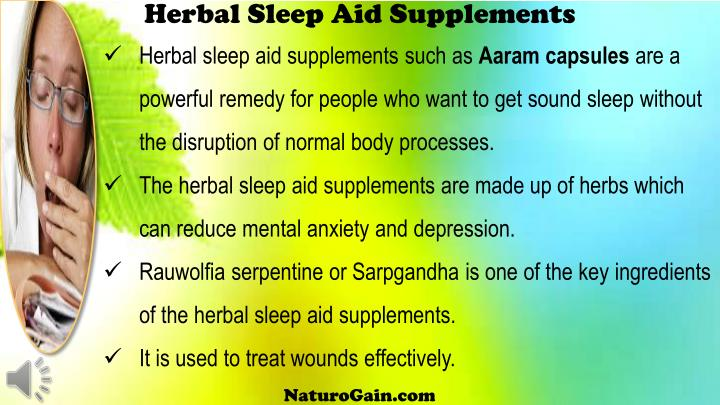 Herbal Sleep Aid Supplements