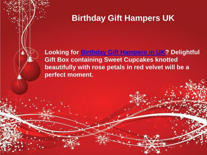 Birthday Gift Hampers UK