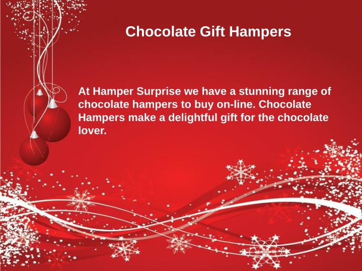 Chocolate Gift Hampers