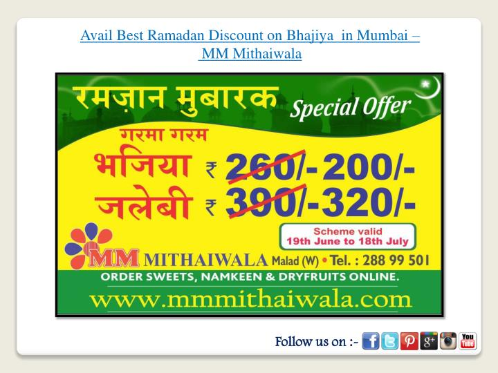Avail Best Ramadan Discount on