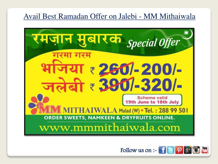 Avail Best Ramadan Offer on
