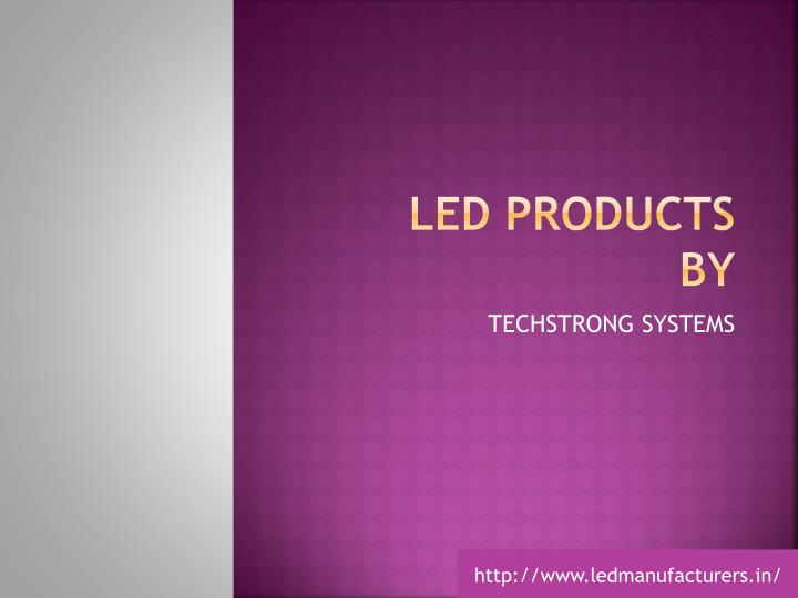Led products by