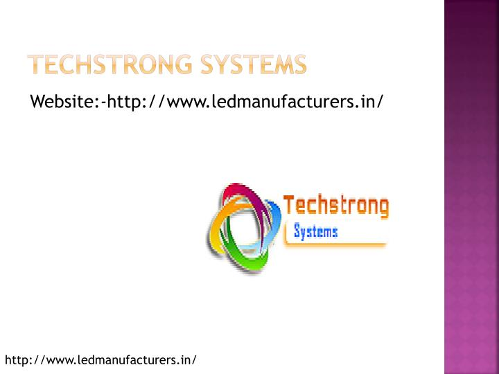 Techstrong systems