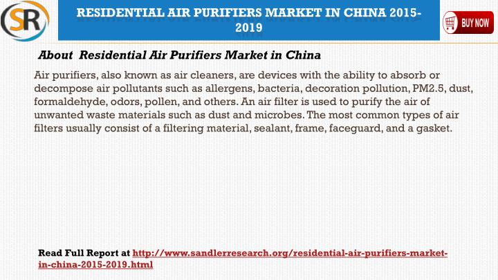 Air purifiers, also known as air cleaners, are devices with the ability to absorb or decompose air pollutants such as allergens, bacteria, decoration pollution, PM2.5, dust, formaldehyde,