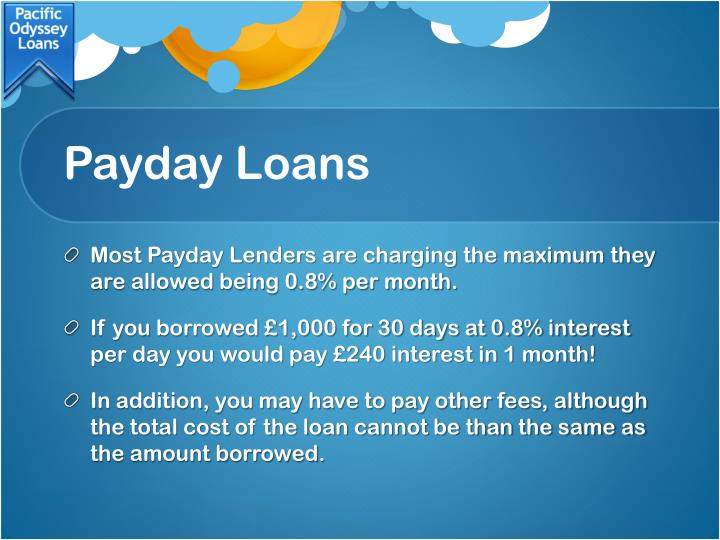 Payday loans1