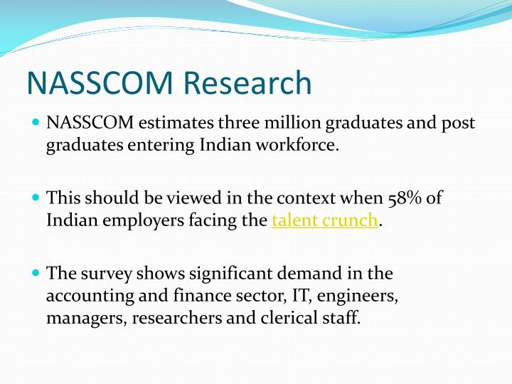 Nasscom research