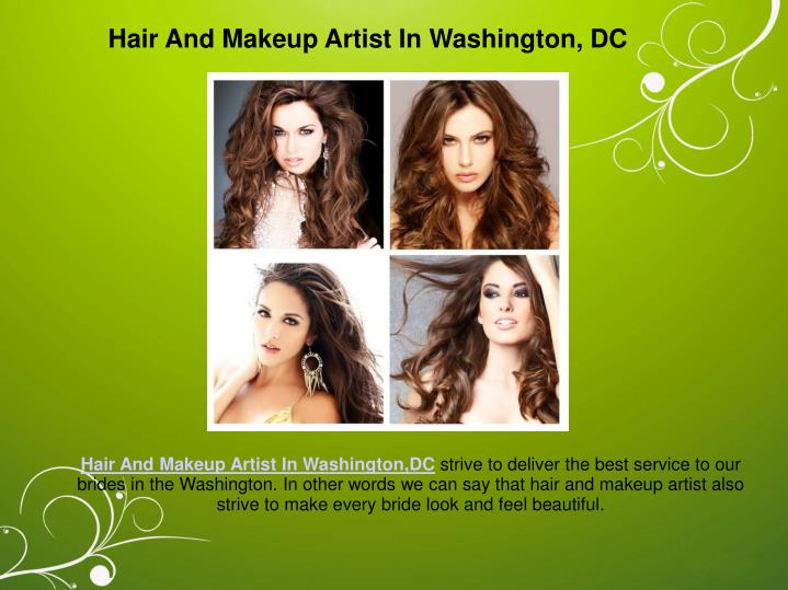 Hair And Makeup Artist In Washington, DC