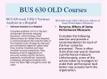 bus 630 old courses8