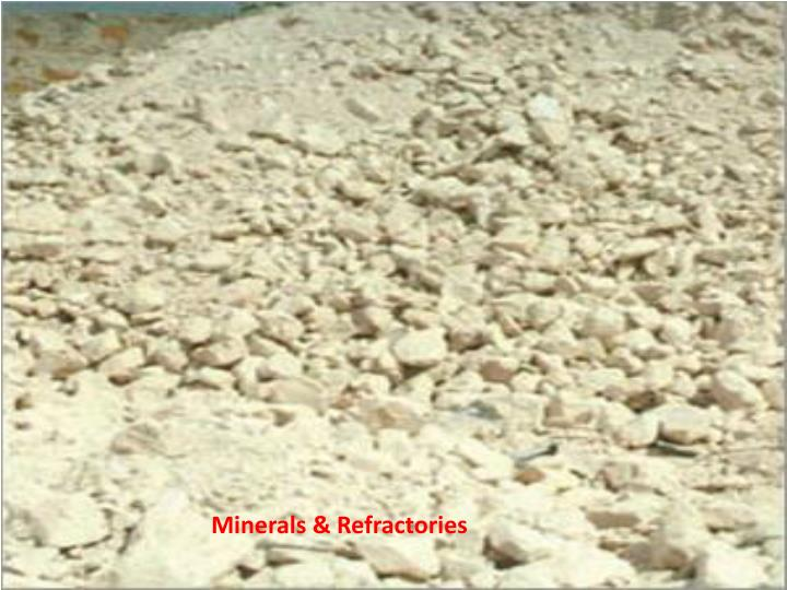 Minerals &