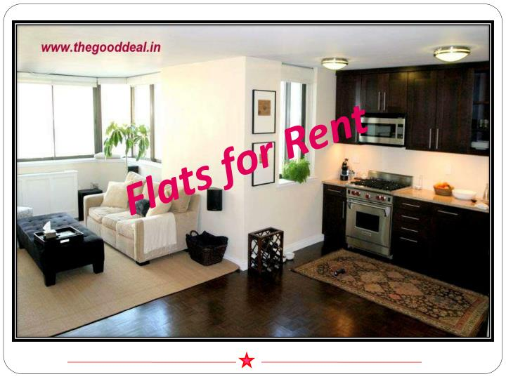 Flats for Rent